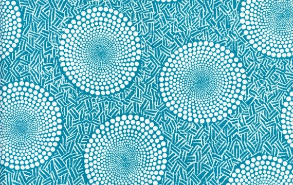 Eggs in Teal by Dan Bennett for Westminster Fabrics - Half Yard