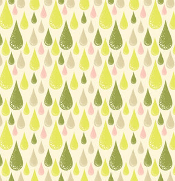 Dew Drop in Olive from Prince Charming by Tula Pink for Free Spirit Fabrics- Fat Quarter