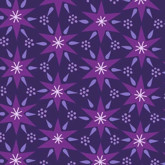 Sheherazade in Purple from 1001 Peeps by Lizzy House- Fat Quarter