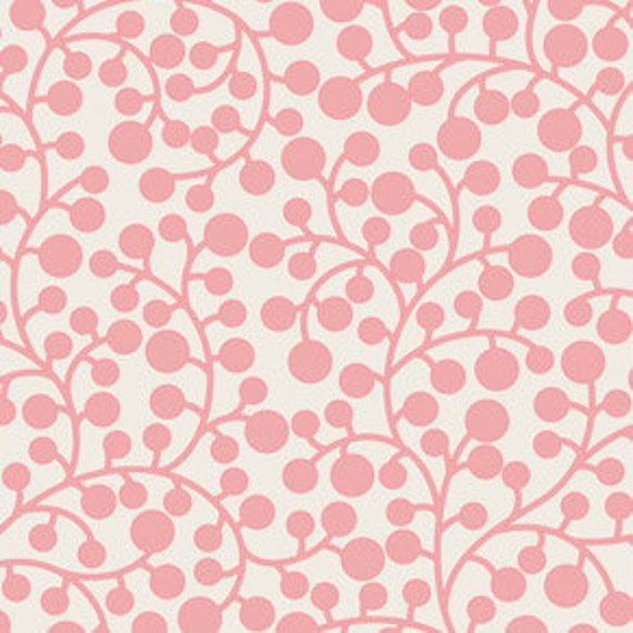 Mod Vine in Rose from Modernology by Art Gallery Fabrics - Fat Quarter