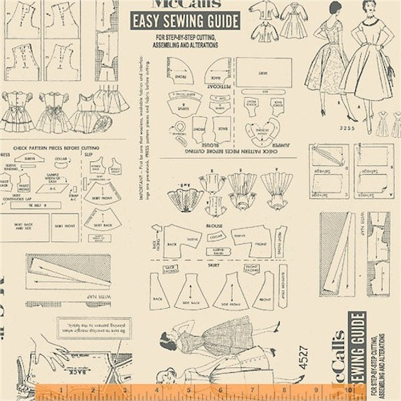 McCalls Easy Sewing Guide from Windham Fabrics - Fat Quarter