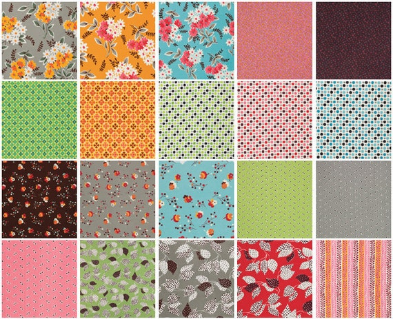 Flea Market Fancy Collection by Denyse Schmidt - Fat Quarter Bundle