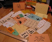 Flashcards: Assorted cards for Collage Projects - Free Shipping to U.S.