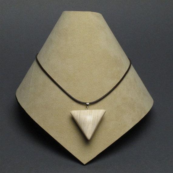 Curly Maple Magnetic Locket, Pendant
