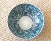 Blue bowl by Felix Tissot