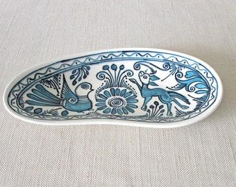 Blue Dish by Felix Tissot