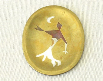 Metales Casados - Married Metals Tray or Plate by Los Castillo
