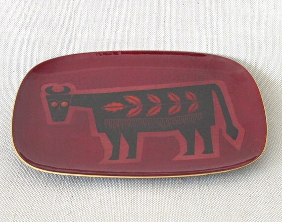 RESERVED FOR  G AVER - Rectangular Enamel Plate by Miguel Pineda