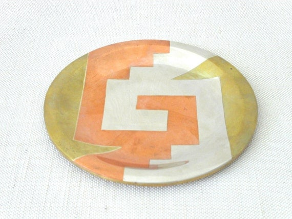 Metales Casados - Married Metals Platel by E.Cabello
