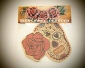 Day of the Dead Temporary Tattoo Pack
