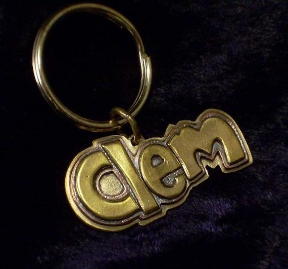 Clem style dog tag