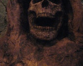 Wall Hanging Withered Corpse - Halloween - Movie - Haunted House - Prop -