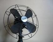 Industrial Chic.  Antique / Vintage Diehl Fan circa 1930s.
