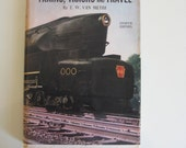 1950 Mid Century Trains, Tracks, and Travel Book.  Great for the Railroad Enthusiast.