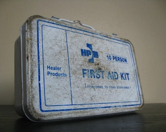 First Aid Kit. Healer Products.