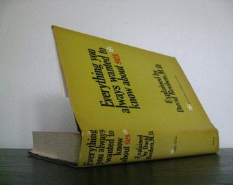 1969 Everything You Always Wanted to Know About Sex Vintage First Edition Hardcover Book.