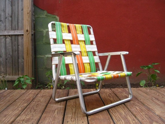 Picnic Chair Great for the Beach or the Lawn.