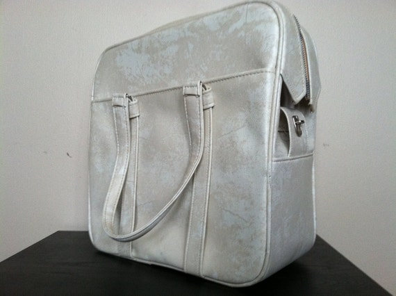 Vintage Samsonite Silhouette Shoulder Tote and Carry On. Original Box.