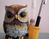 Owl Ceramic Toothpick Holder