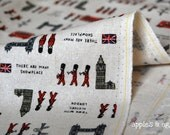 The Soldiers of London - Cotton-Linen Fabric (Fat Quarter)