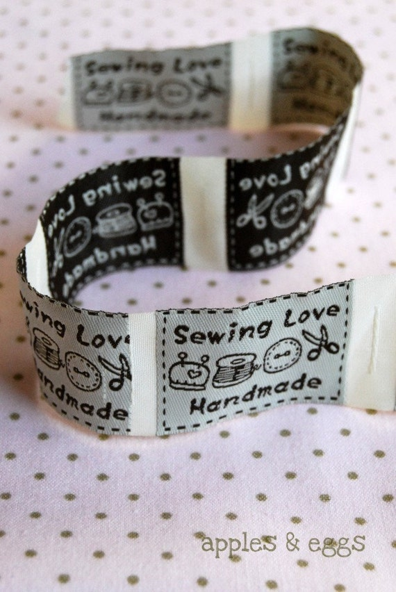 handmade labels for sewing items similar to sewing tools sew on handmade labels 8321