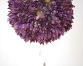 Lavender Daisy Flowerr Ball