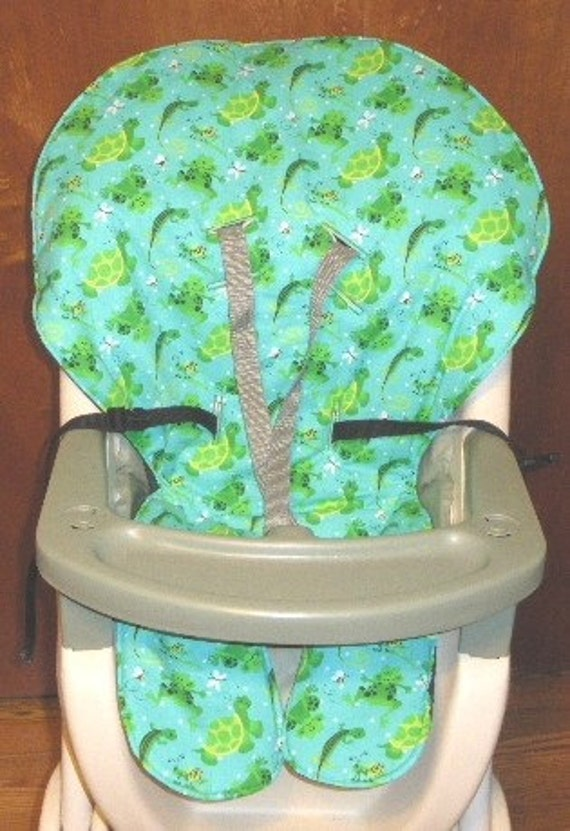 Graco High Chair Seat Cover Replacement Green By Sewingsilly