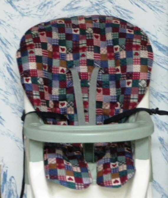 Graco ship ready high chair replacement cover,pad,cushion,home sweet home