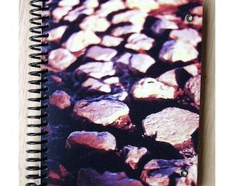 blank notebook - Stones