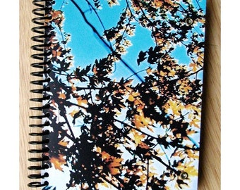 blank notebook - Autumn Leaves 2