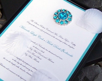 The Petal Gem Boxed Invitation Set