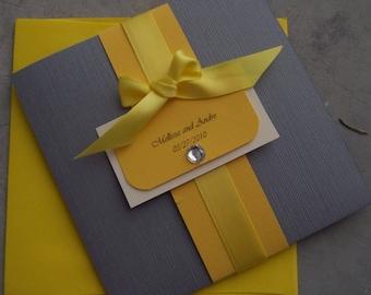 The Bow Pocketfold Invitation Set