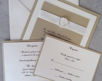 Complete Elegance Pearl Invitation Set