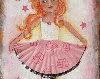 Cupcake Princess - Print