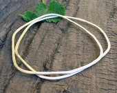 Organic Forged Sterling Silver Bangles (Set of two)