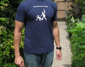 "You Had Me at ""Hello"" - men's fitted t-shirt, dark blue"