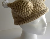 CROCHET PATTERN Crocheted Turkey Dinner Hat w/permission to sell finished items