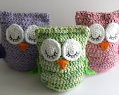 "CROCHET PATTERN -  ""Owl Love You Forever"" Cuddle Pillow Pattern"