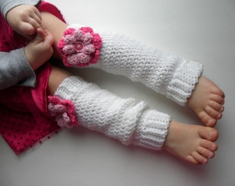 CROCHET PATTERN Leg Warmers for Babies and Kids w/ permission to sell finished items