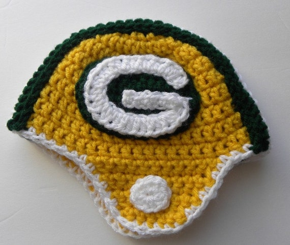 CROCHET PATTERN PACK -  Packers, Bears, Colts w/permission to sell finished items
