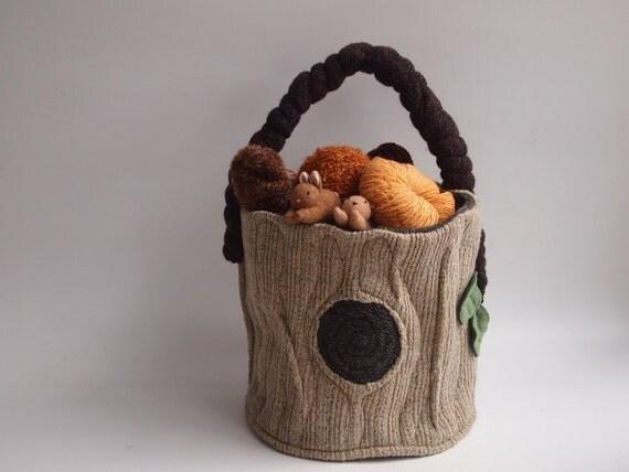 fabric basket  floor storage, toys