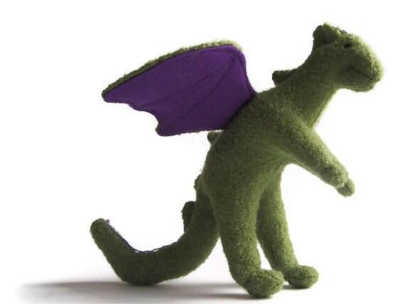 Dragon, fierce and friendly