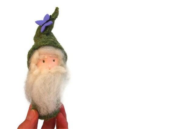 Gnome, Wizard, waldorf doll
