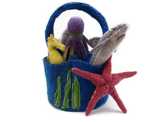 Toy Bag, Sea, Ocean home