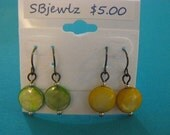 Yellow and Green pairs
