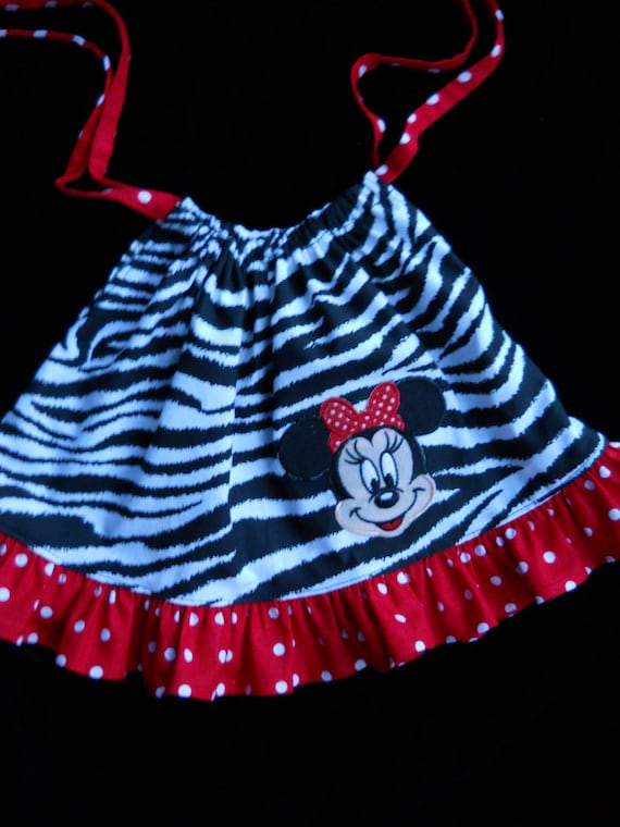 Minnie Mouse Pillowcase Dress for American Girl