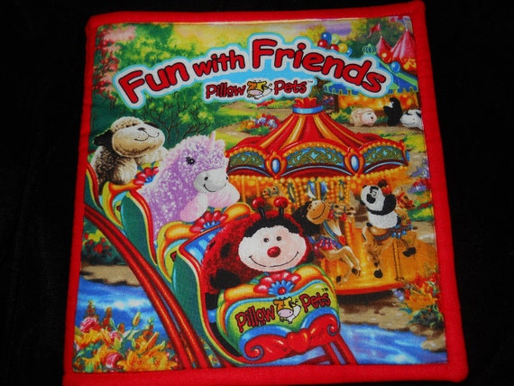 Pillow  Pets Fun with Friends cloth Book