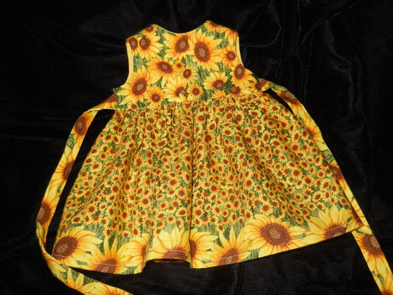 American Girl Doll 18 inch Doll Clothes Dress with Sunflowers for the Spring
