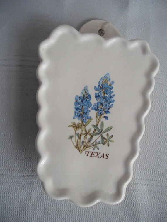 Scissor Holder with Bluebonnets