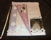 Ethel Clayton Altered Journal...Free Shipping